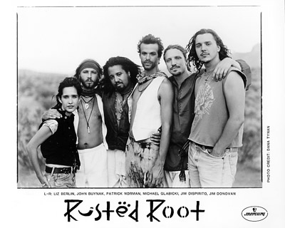 Rusted Root band
